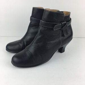 Softspots Scotia Iconic Black Booties